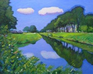 Oranjekanaal bij Elp