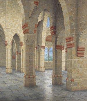 Interieur Victorkerk Apeldoorn