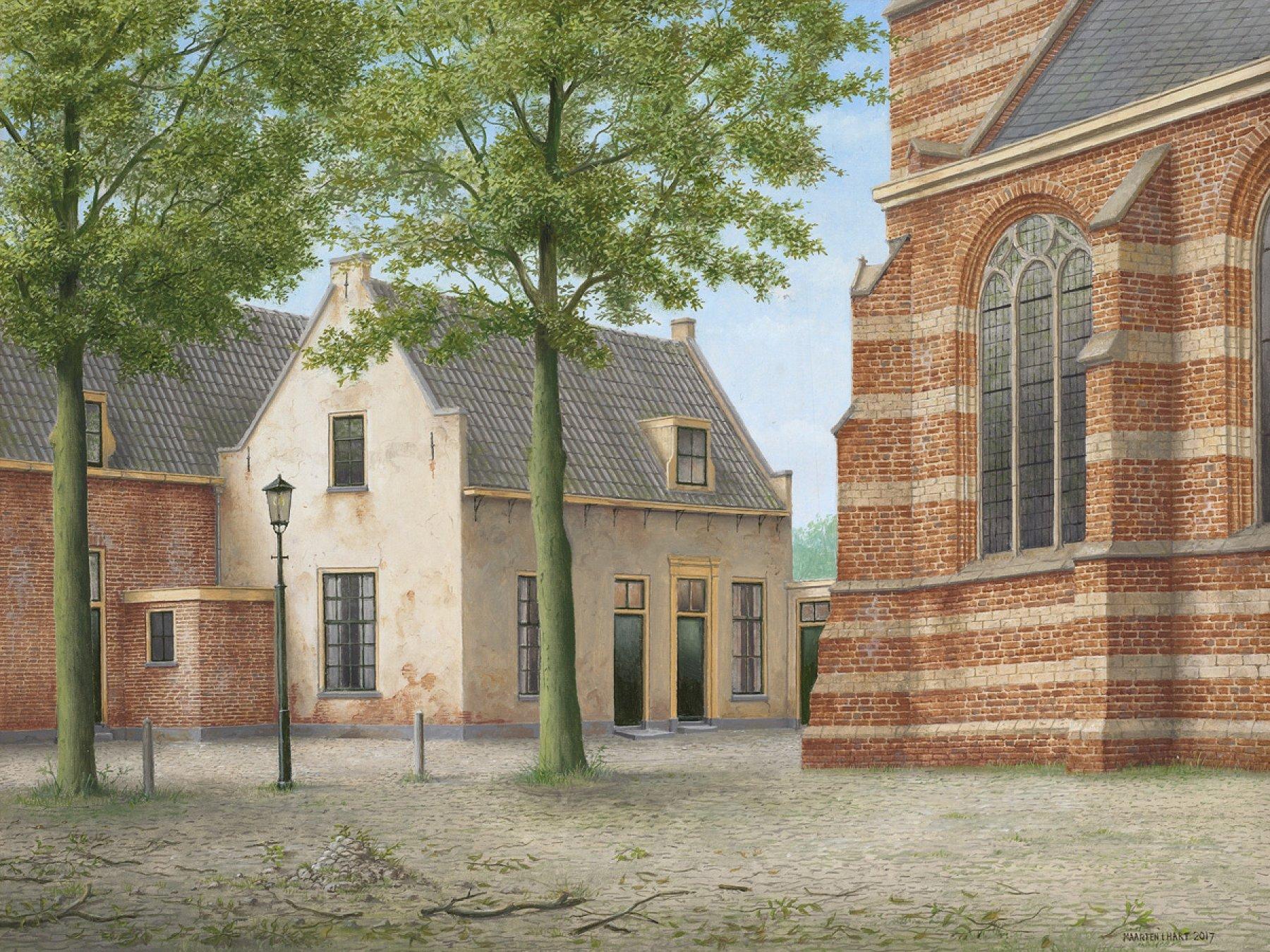 Kerkplein Loenen aan de Vecht