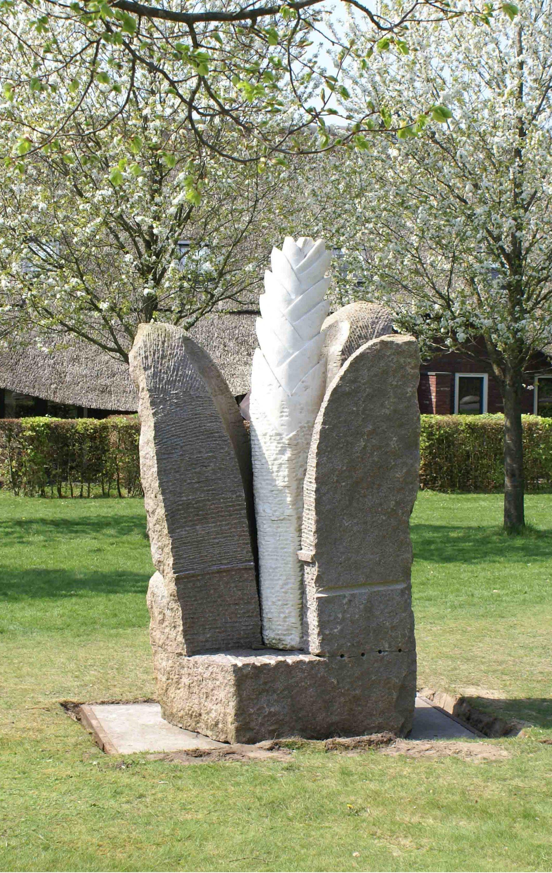 Monument voor een bloem