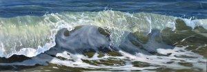 Spattende golven
